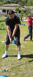 Golfschl�ger Fitting